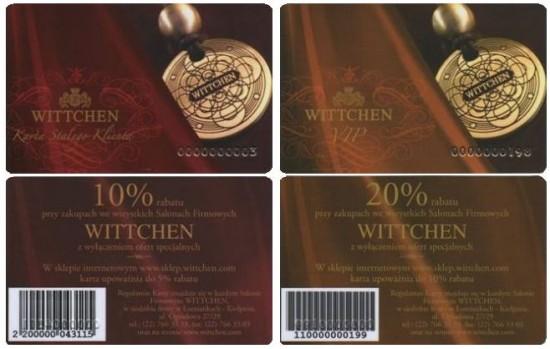 karta klienta Wittchen