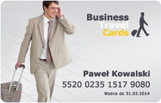 karta rabatowa business travel cards